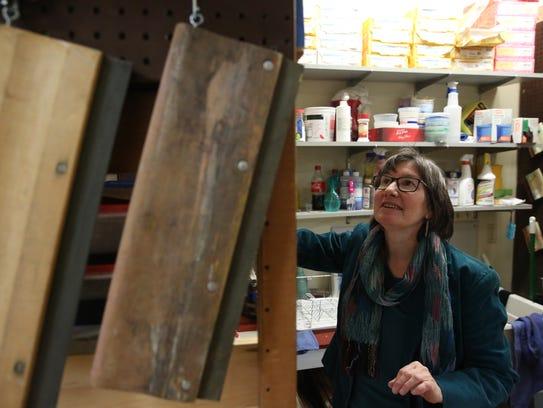 Anita Fina Kiewra artistic director at the PUF (Poughkeepsie