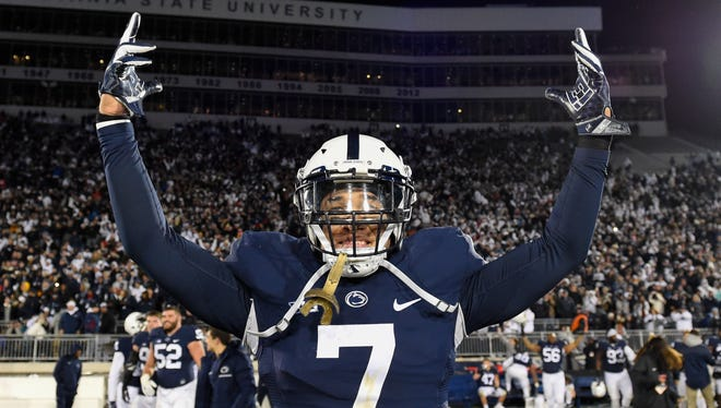 Senior Koa Farmer must lead a new and questionable group of linebackers in the opener against upstart Appalachian State. The middle of Penn State's defense will be tested throughout, particularly by a dynamic running game.