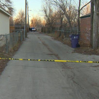 A teen inside the car when Denver police officers shot