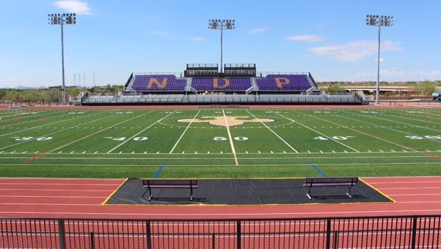 Notre Dame Prep introduces Bemis Field on Friday night, when Notre Dame (2-2) plays a home game on campus for the first time in its history.