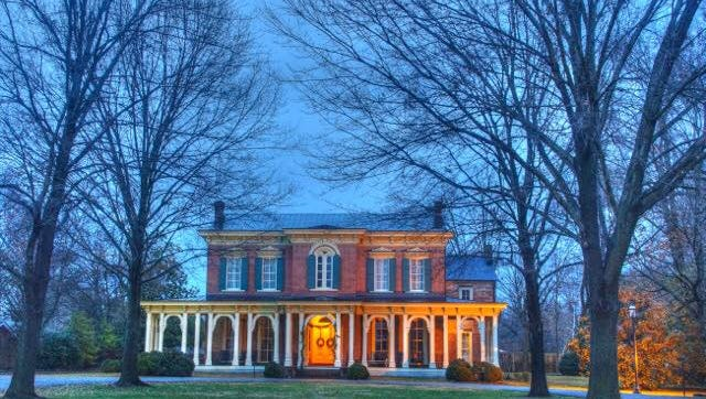 Oaklands Mansion will be featured on the Candlelight Tour of Homes.
