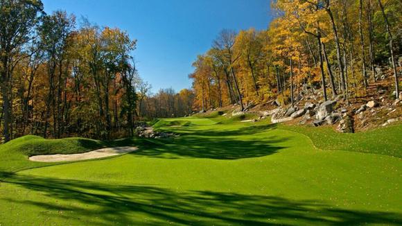 Pound Ridge Golf Club is a unique challenge, a modern