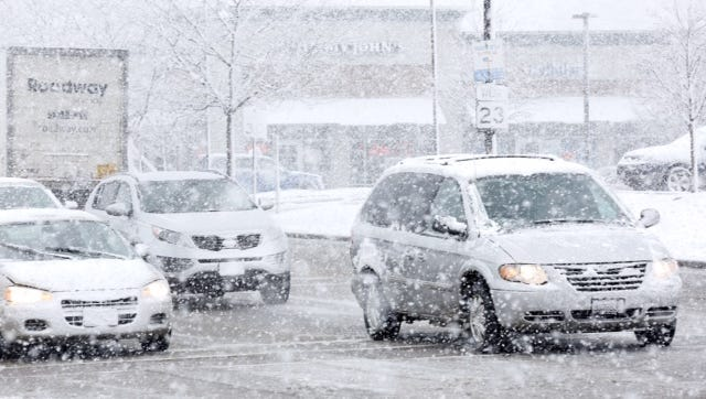 A snowstorm March 23 and 24 brought wet, heavy snow to Fond du Lac and a large swath of the state, along with hazardous driving conditions.
