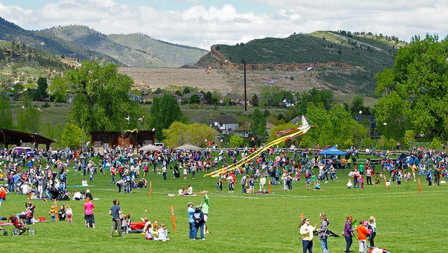 The 9th Annual Kites in the Park Festival will take place at Spring Canyon Park Sunday.
