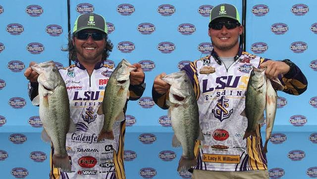 LSUS anglers J.P. Kimbrough and Devine Deramus finished second out of 168 teams recently in the BoatUS Collegiate Bass Fishing Championship in Alabama.