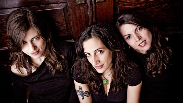 The Wailin' Jennys will perform  April 20 at Pruis Hall.
