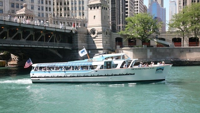 Skyline Princess was a former tour boat in Chicago, and she will be coming to Manitowoc to work with the Wisconsin Maritime Museum.
