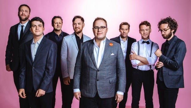 "St. Paul and the Broken Bones play the Levitt Shell's ""Stars at the Shell"" show on Saturday night."