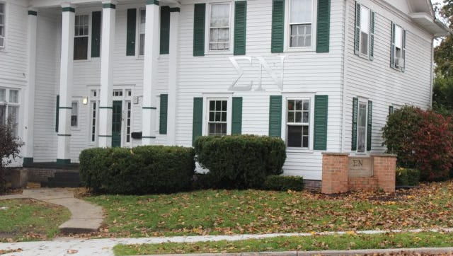 A Michigan State fraternity is under investigation from the university and by its national organization after an student found an offensive scavenger hunt list that appears to belong to the group.