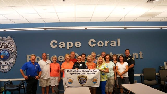 The New Residents Club of Cape Coral has more than 800 members..