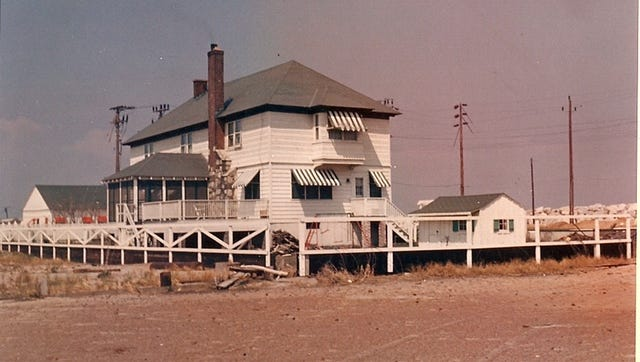 The William Sandlass House, as it's now known, was once the headquarters and family residence of the long-gone Highland Beach Excursion Resort. A group wants to turn the now-rotting structure into a museum.