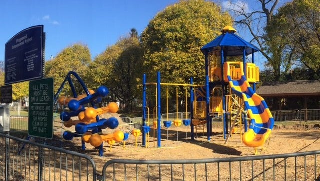 Kiwanis Park in Plymouth has gotten a facelift.