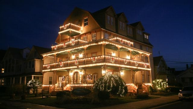 Tour local inns and bed and breakfasts during the annual Ocean Grove holiday tour.