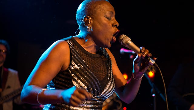 Sharon Jones and The Dap Kings performed to a packed house at Vinyl Music Hall in 2014. Jones died of pancreatic cancer on Nov. 18, one of many musical giants who passed in 2016.