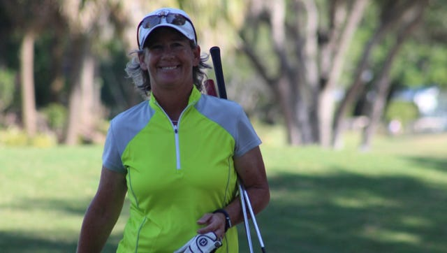 Gigi Higgins of Cape Coral won the Florida Women's Senior Amateur this year.