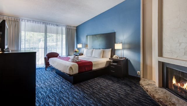 Glenstone Lodge in Gatlinburg has renovated its guest rooms and has more improvements on the way.