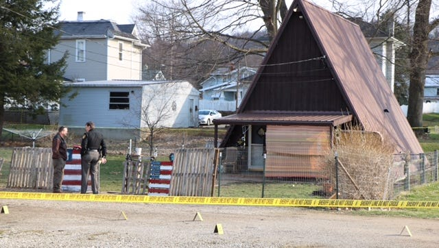 The Ashland County Sheriff's Office is investigating a gunshot wound to the face of a 36-year-old man Friday at 113 Cherry Alley.