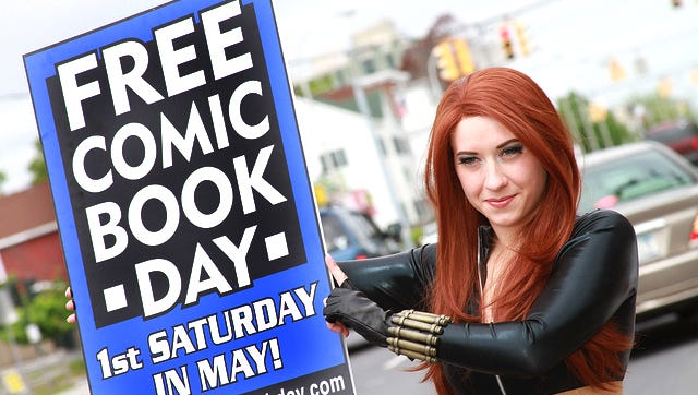 Free Comic Book Day is Saturday.