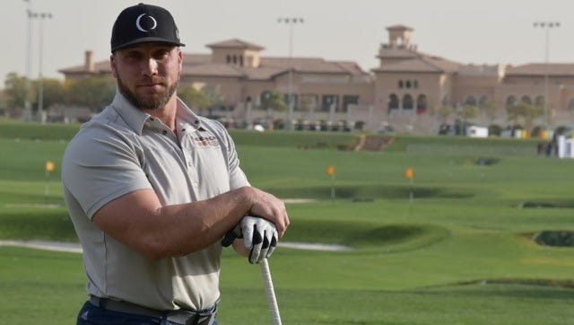 Ryan Steenberg was eliminated in the semifinals of the Clash in the Canyon on Tuesday in Mesquite, Nevada.