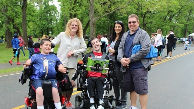 Children's Specialized Hospital Foundation hosted its 11th annual Walk n' Roll on May 20 at Johnson Park in Piscataway.