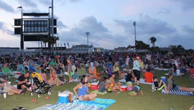 The Hill-Kelly Movies in the Park series continues until Aug. 4.