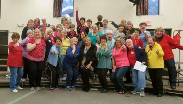 Fox Valley Chorus of Sweet Adelines International will take part in Barbershop Chorus Appreciation Day on July 13.