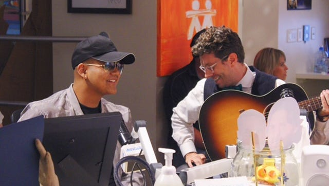 Raymond Cruz, left, and his oncologist, Mark Stavas, will perform a duet at the Ryman Auditorium.