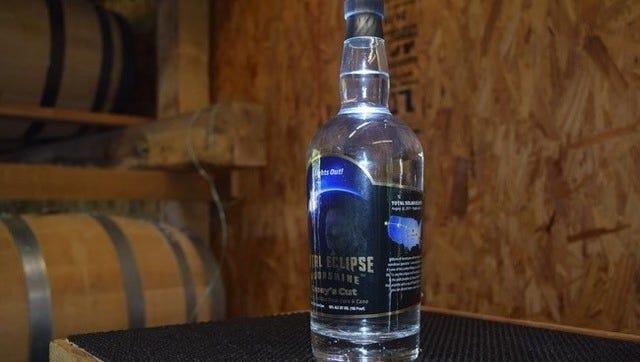 Moonshine from Casey Jones Distillery.