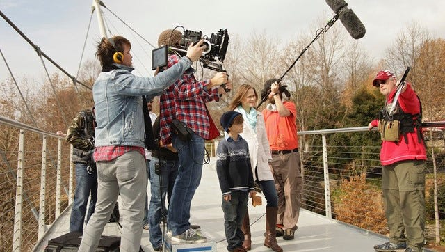 """Much of the film """"Tinker"""" was shot in familiar locations around Greenville."""