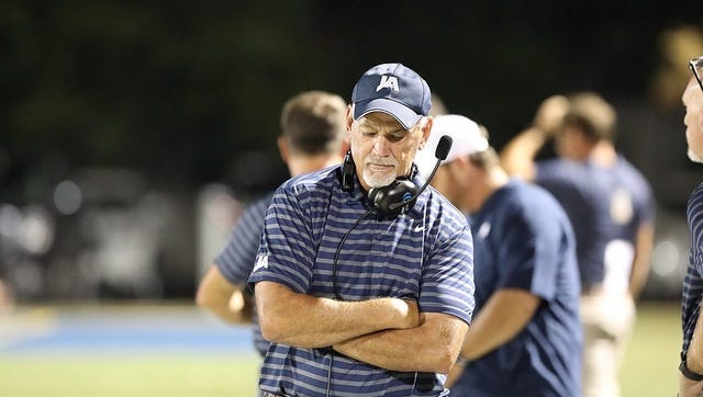 Larry Weems is in his second season as head football coach of Jackson Academy.