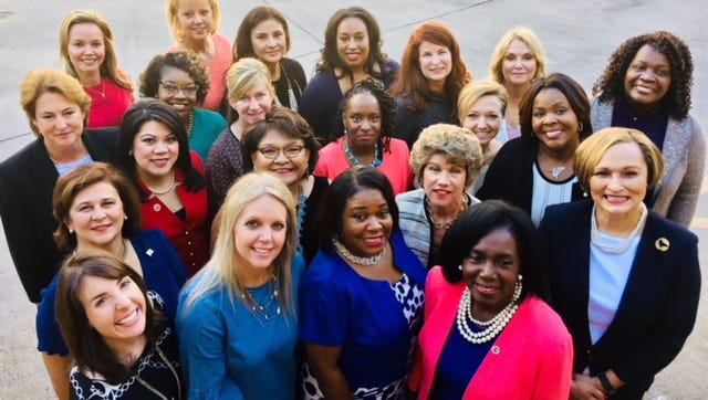 The Women In Government Program Class of 2018.