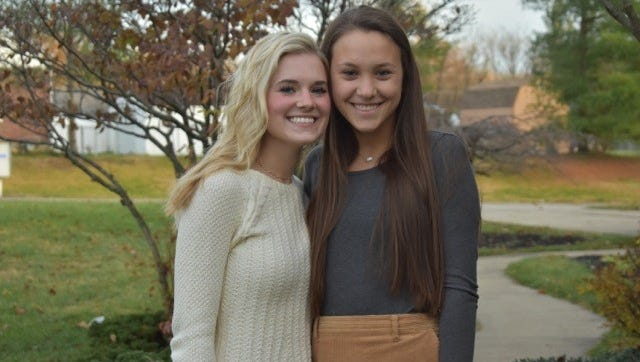 Forest Hills School District seniors Catherine Liska and Charlotte Yungblut are teaming up to raise money and awareness for The Leukemia & Lymphoma Society and vying for Student of the Year.