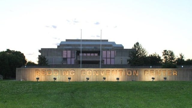 The city-owned Redding Civic Auditorium serves as the main campus for Bethel Church's School of Supernatural Ministry.