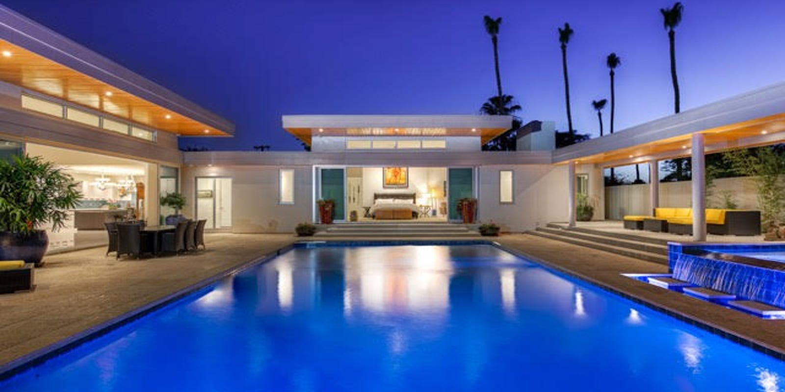 Phoenix ranch remodel makes clic pool the centerpiece on house floor plans with indoor pool, house plans with enclosed pool, home plans with interior pool, inexpensive home indoor pool, custom home with indoor pool, luxury home plans with indoor pool, house plans with swimming pool,