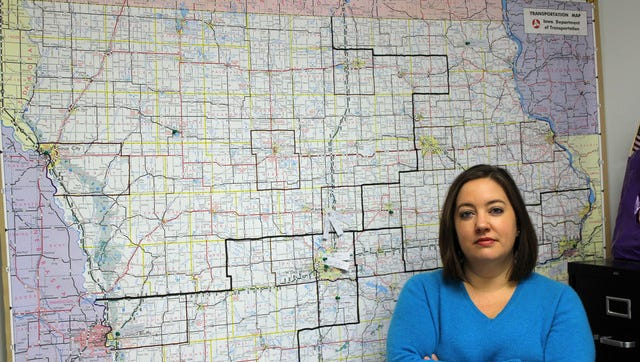 Sarah Benzing is campaign manager for Iowa Democratic U.S. Senate candidate Bruce Braley.