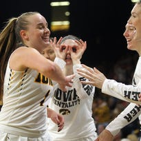 Photos: Iowa vs. Colorado WNIT third round