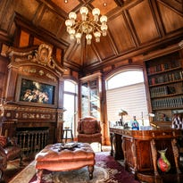 $8.5M Orchard Lake mansion has dramatic architecture, 9 baths