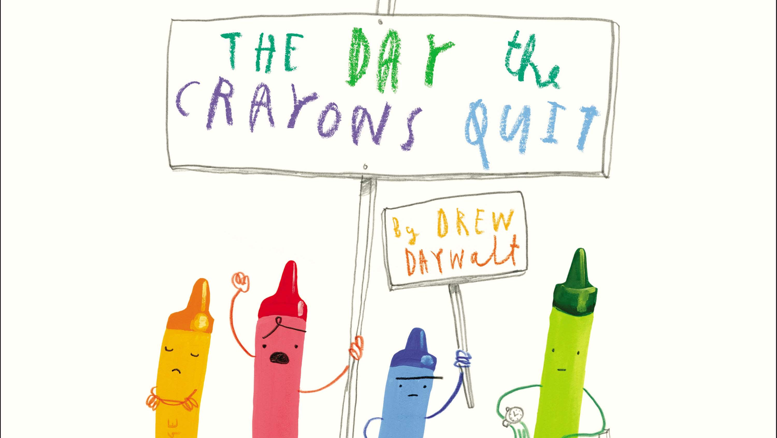 Book Buzz: Rebellious crayons head to Hollywood