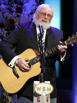 """FILE - Charlie Daniels performs during a memorial service for country music singer Troy Gentry at the Grand Ole Opry House on Sept. 14, 2017, in Nashville, Tenn. Daniels who had a hit with """"Devil Went Down to Georgia†has died at age 83. A statement from his publicist said the Country Music Hall of Famer died Monday due to a hemorrhagic stroke."""