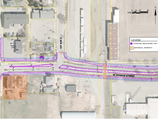 A first look at what the impact of the second phase of Thomas Street may be.
