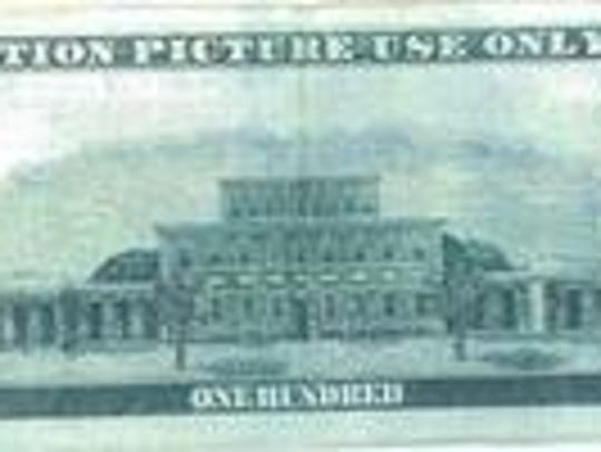 """Movie money has """"For motion picture use only"""" printed"""