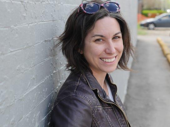 Julie Lesnik, 35, an anthropologist at Wayne State