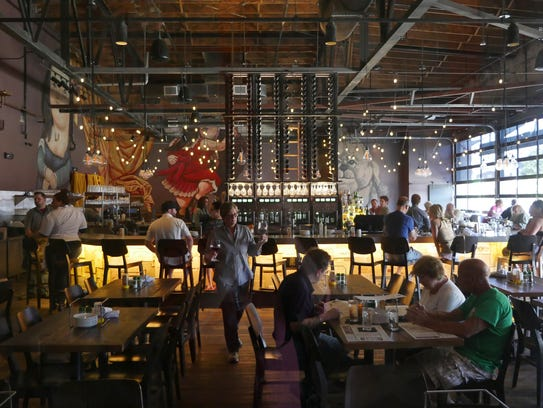 Including the patio, Pop's for Italian in Ferndale