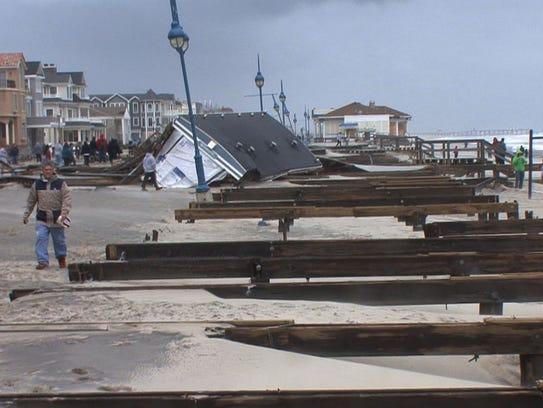 Belmar, NJ-10/30/12- Hurricane Sandy Aftermath-Bob