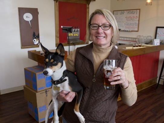 Little Dog Brewing Co. in Neptune City, owned by Gretchen