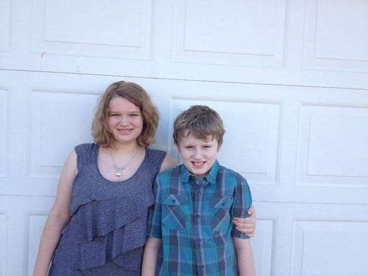"""My sophomore- Lydia, is excited. The 5th grader- Adam, not so much. But mom is listening to """"Happy"""" this morning!"""
