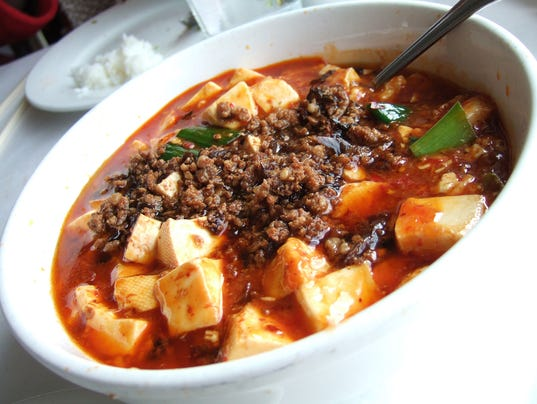 Mapo Dofu at Lao Sze Chuan