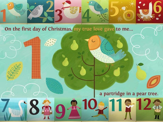 12 DAYS OF CHRISTMAS 2017 COSTS