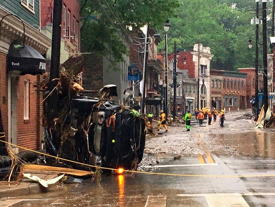 Ellicott City Flooding (AP Photo)
