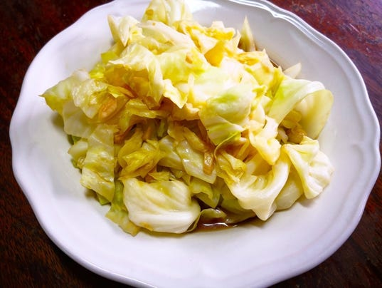 Indian-inspired cabbage